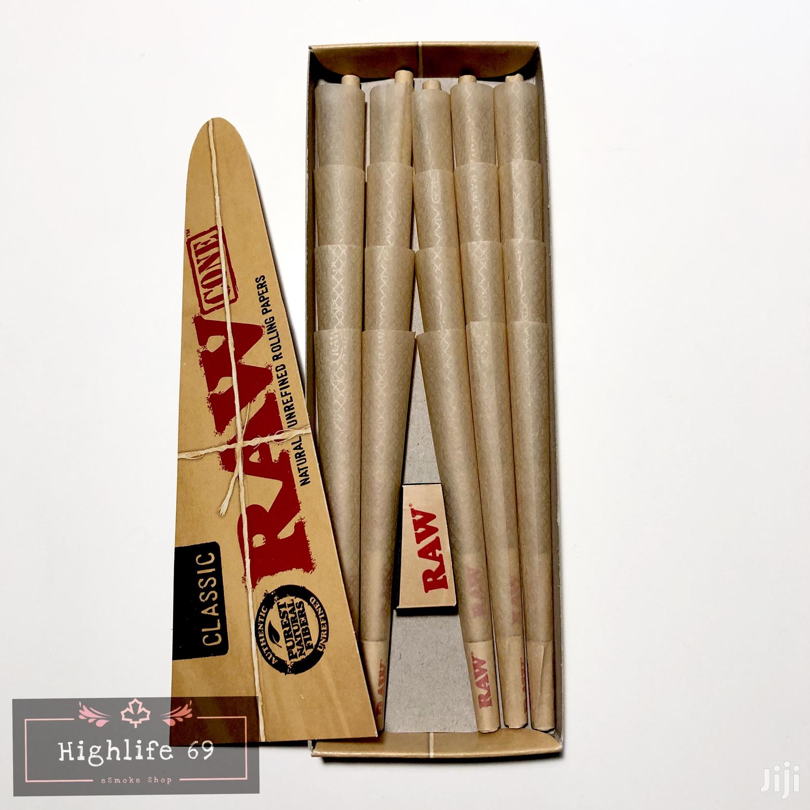 Archive: Raw Cone. Pre-rolled Paper