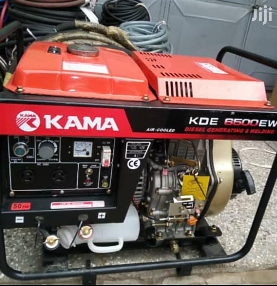 Kama Generator Welding Machine 5KVA