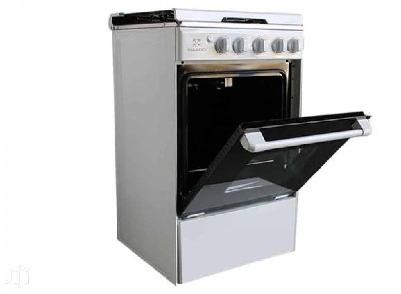 Nasco 4 Burner Gas Cooker With Oven Grill