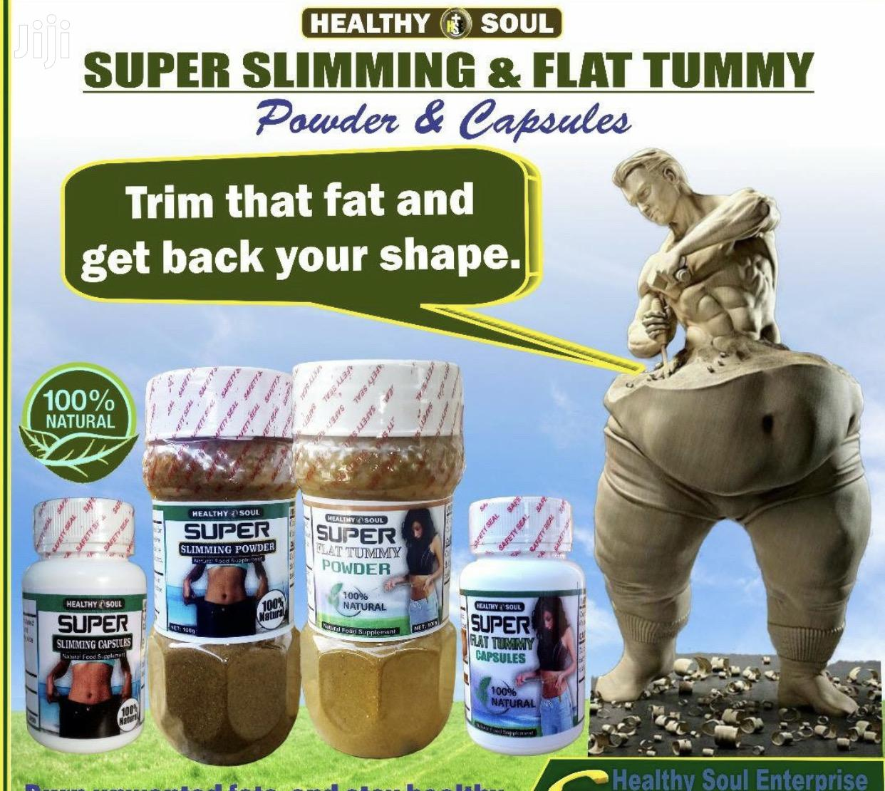 Flat Tummy And Slimming Supplements