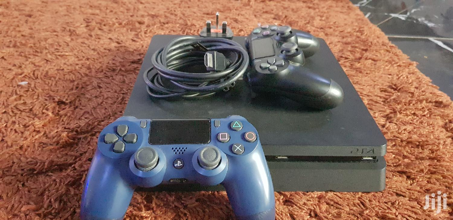 Archive: Ps4 Slim Complete Package With 10 Installed Games