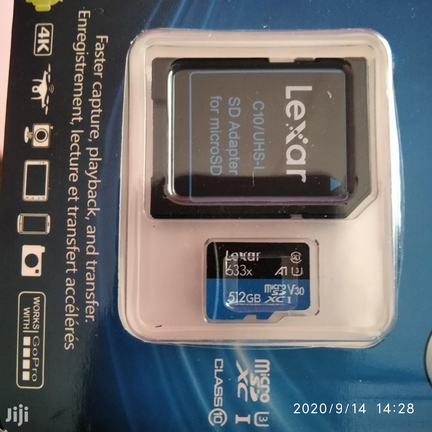 512gb Lexar SD Cards | Accessories for Mobile Phones & Tablets for sale in Adenta Municipal, Greater Accra, Ghana