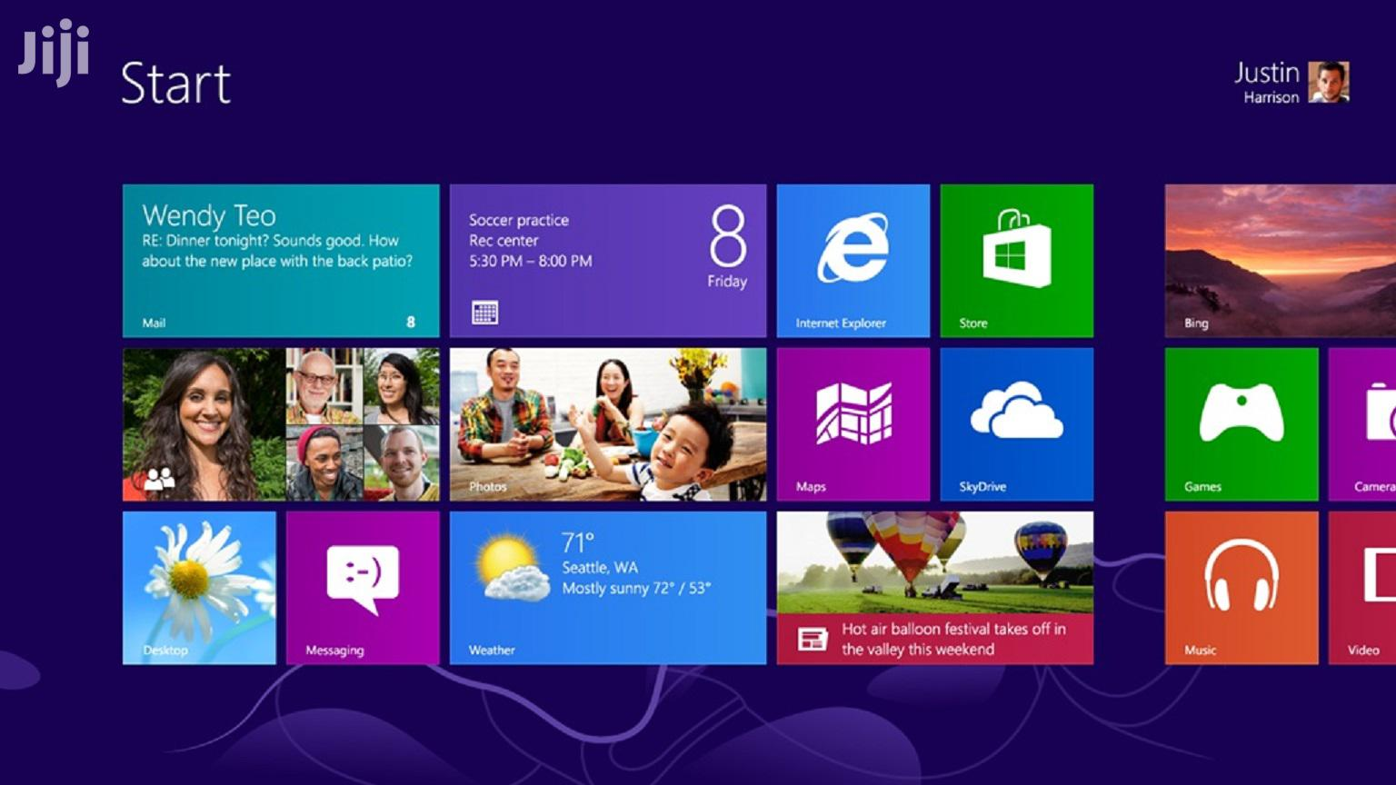 Windows 8 Pro VL (X86+X64) Untouched DVD   Software for sale in Achimota, Greater Accra, Ghana