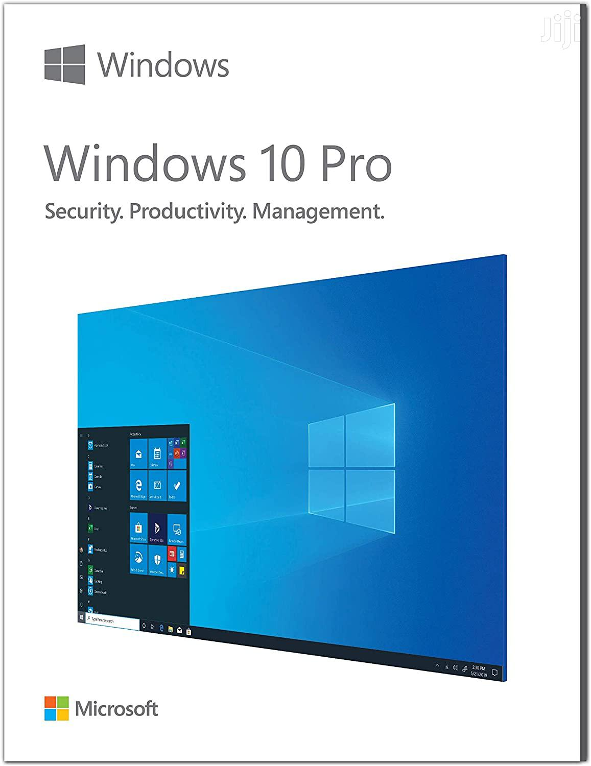 Windows 10 Pro (64bit)   Software for sale in Achimota, Greater Accra, Ghana