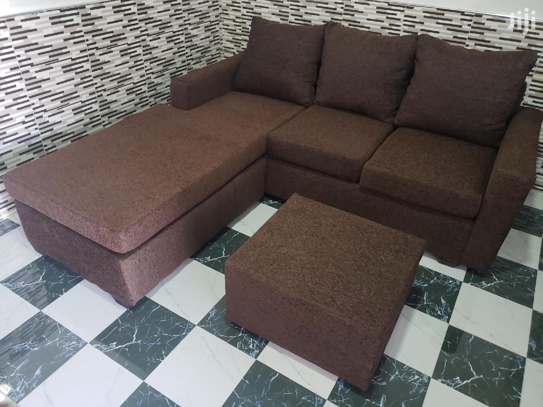 Promotion Brand New Quality L Shape Italian Sofa