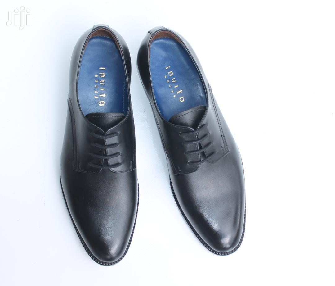 Plain Derby Shoes Mens Black | Shoes for sale in Accra Metropolitan, Greater Accra, Ghana