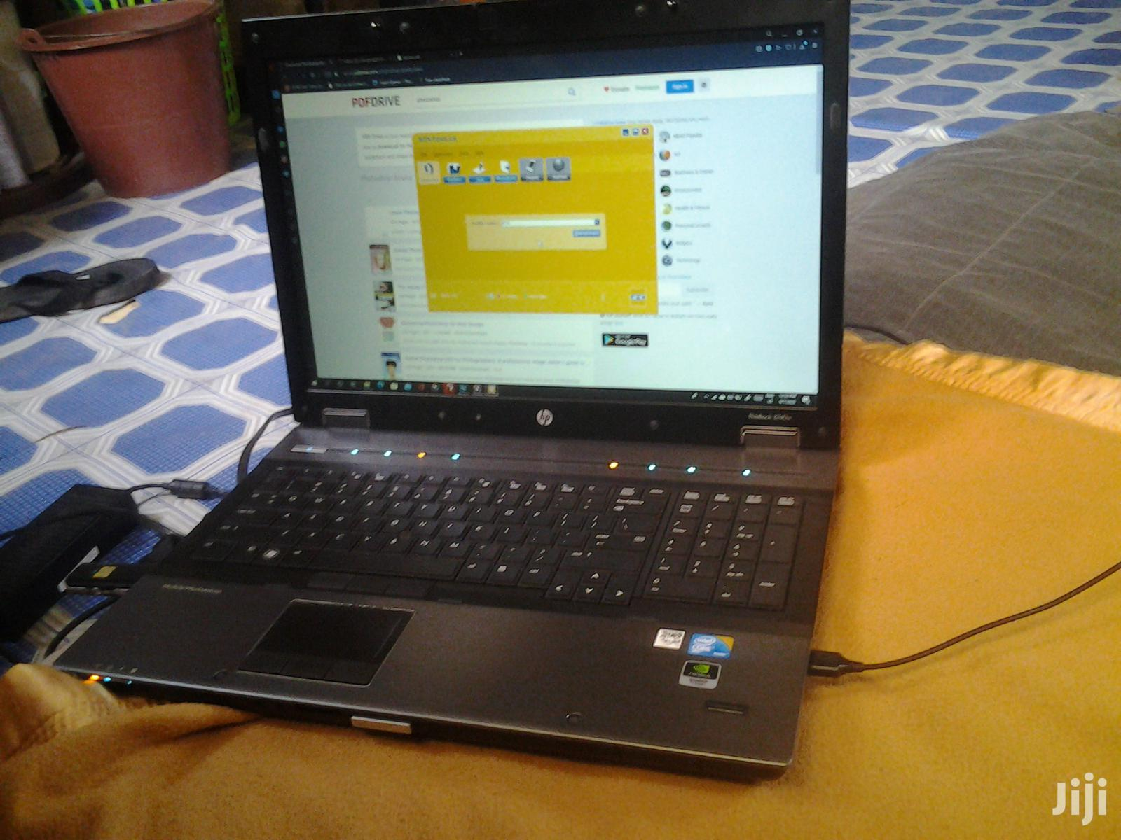 Laptop HP EliteBook 8740W 4GB Intel Core I7 HDD 500GB | Laptops & Computers for sale in Achimota, Greater Accra, Ghana