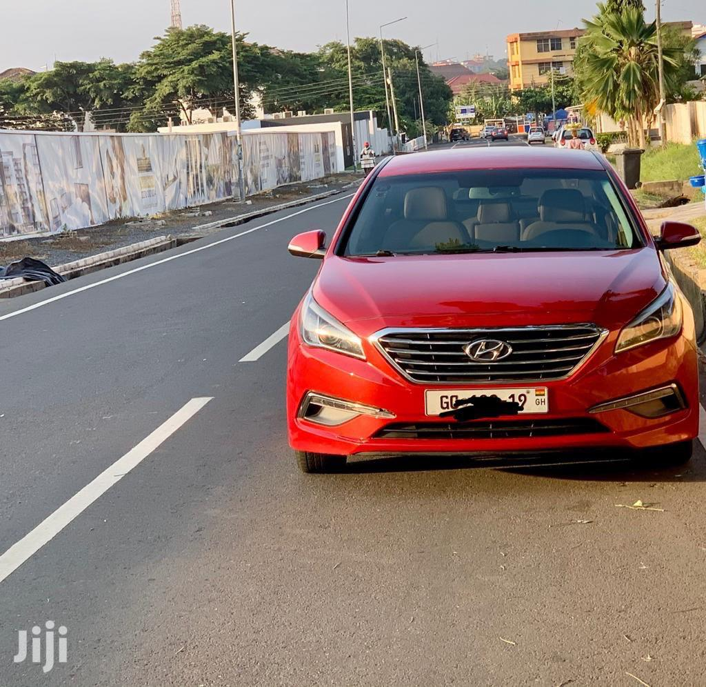 Hyundai Sonata 2016 Red | Cars for sale in Achimota, Greater Accra, Ghana