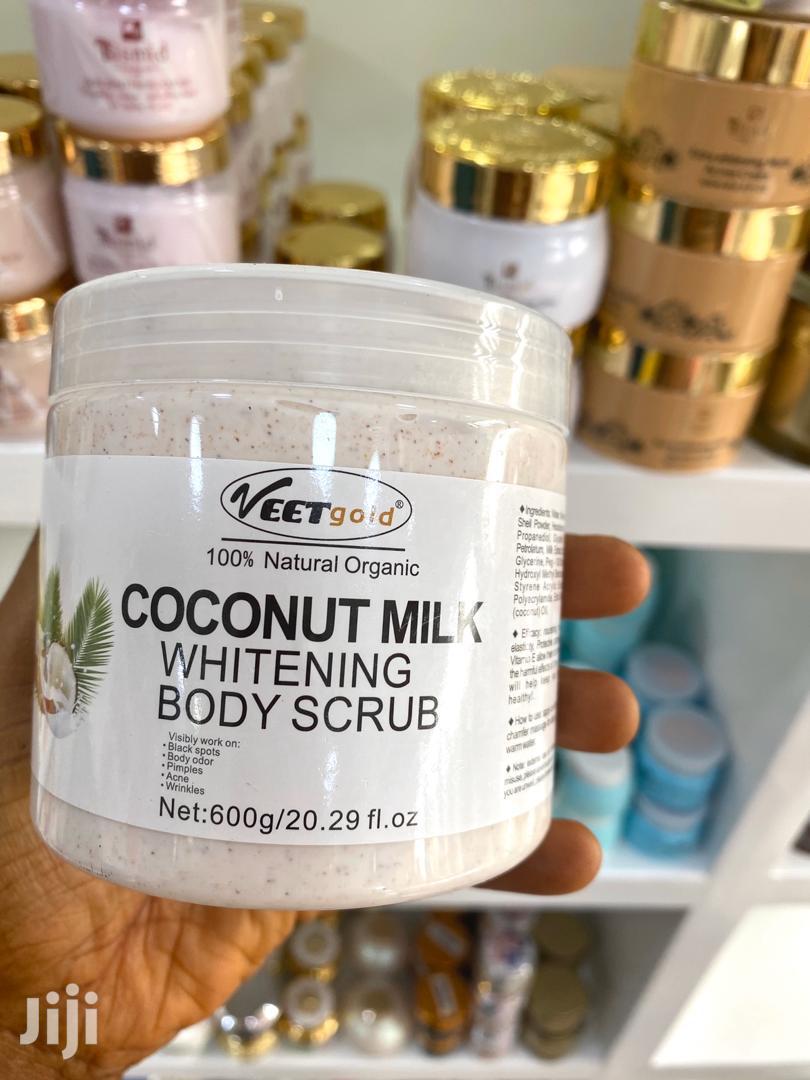 Veet Gold Milk+Almond Whitening Scrub   Skin Care for sale in Teshie-Nungua Estates, Greater Accra, Ghana
