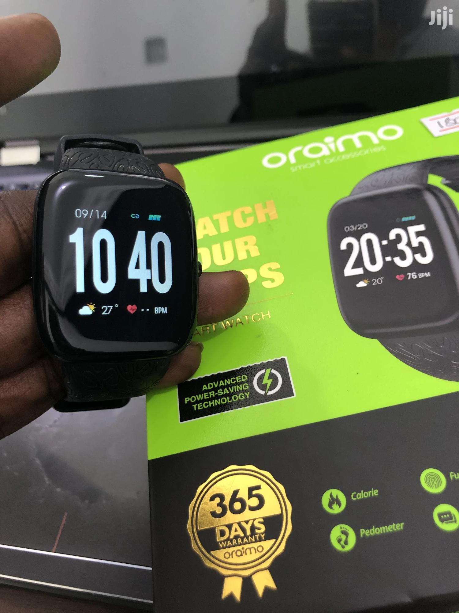 Oraimo Tempo S Waterproof Fitness Watch