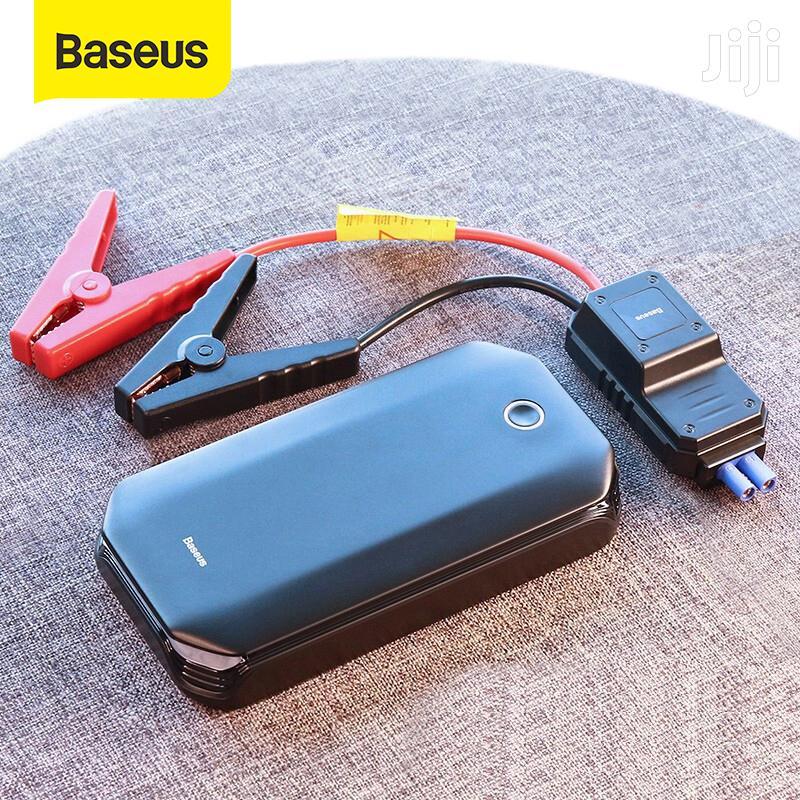 Baseus Energy Car Jump Starter & Power Bank - 800A,8000mah