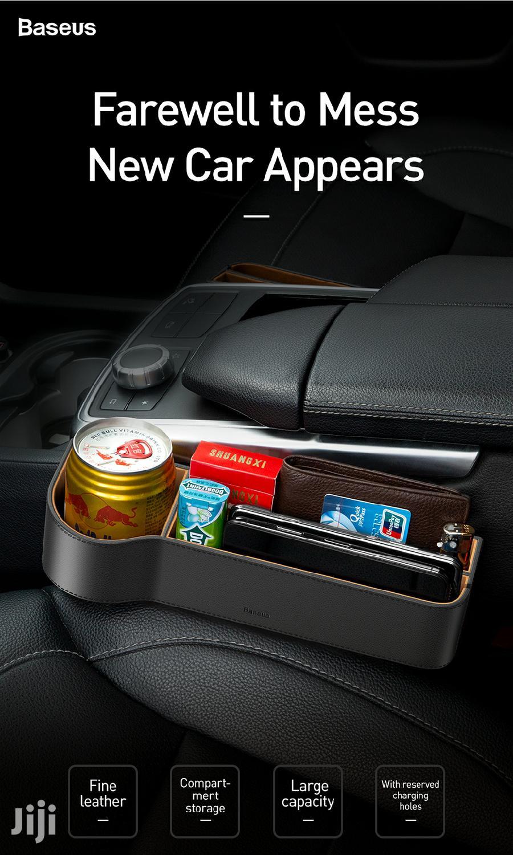 Baseus Elegant Car Storage Box - Black