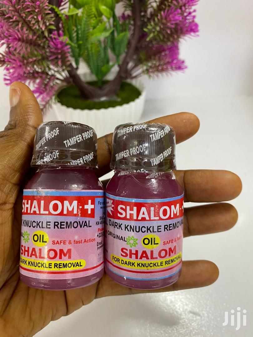 Shalom Dark Knuckles Removal Oil