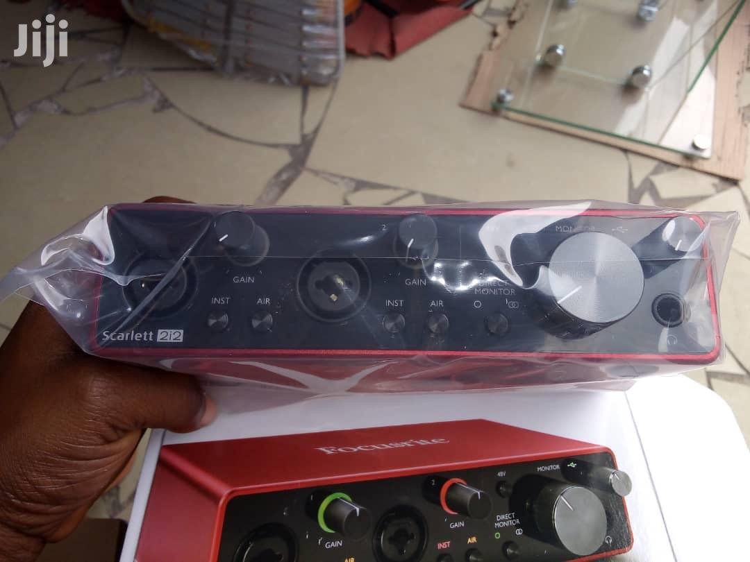 Focusrite Scarlett 2i2 Sound Card (Audio Interface) | Audio & Music Equipment for sale in Dansoman, Greater Accra, Ghana