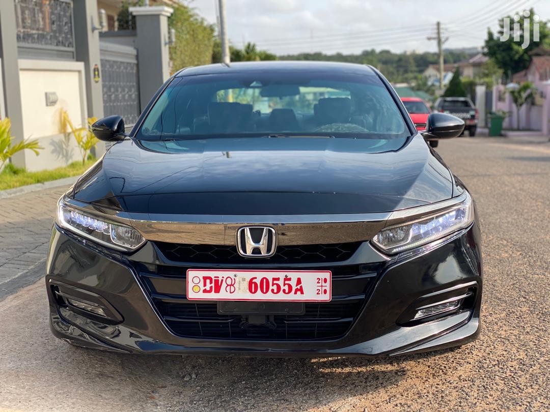 Honda Accord Sport 2018 Black | Cars for sale in Tema Metropolitan, Greater Accra, Ghana