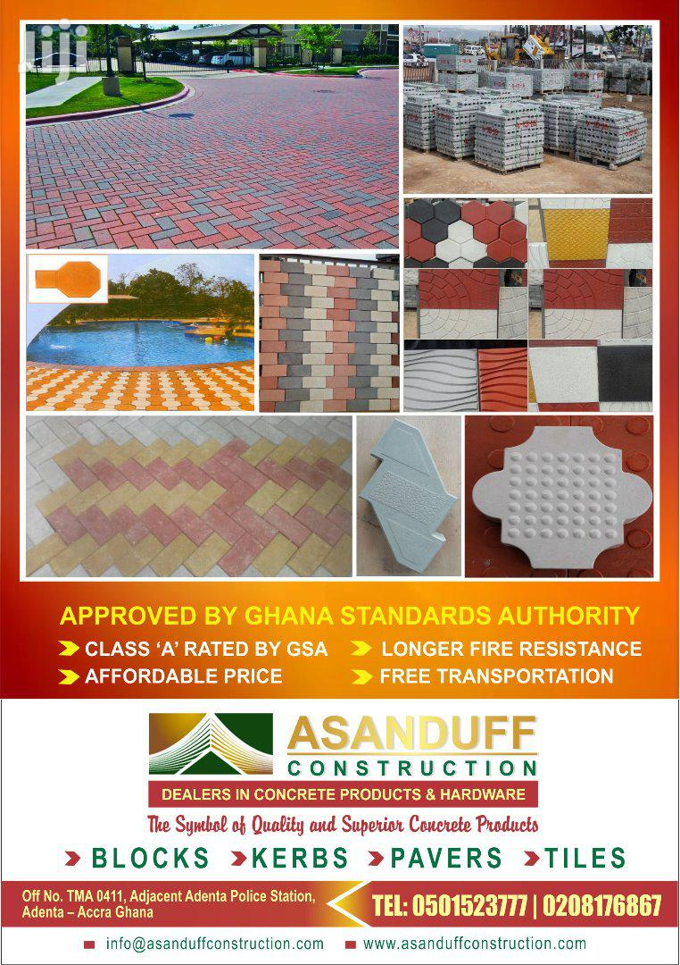 Archive: High Quality Pavement Blocks And Floor Slabs