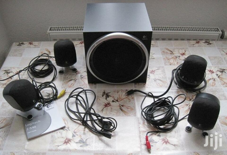Archive: BLUETOOH Logitech Z-640 6 Speaker Surround Sound System