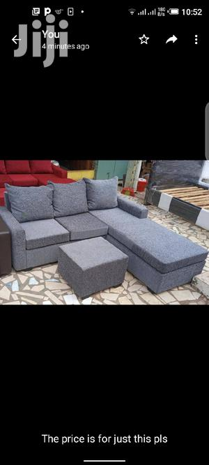 Gray Colored Lshaped Sofa.Free Delivery ❤🖤 | Furniture for sale in Greater Accra, Tema Metropolitan
