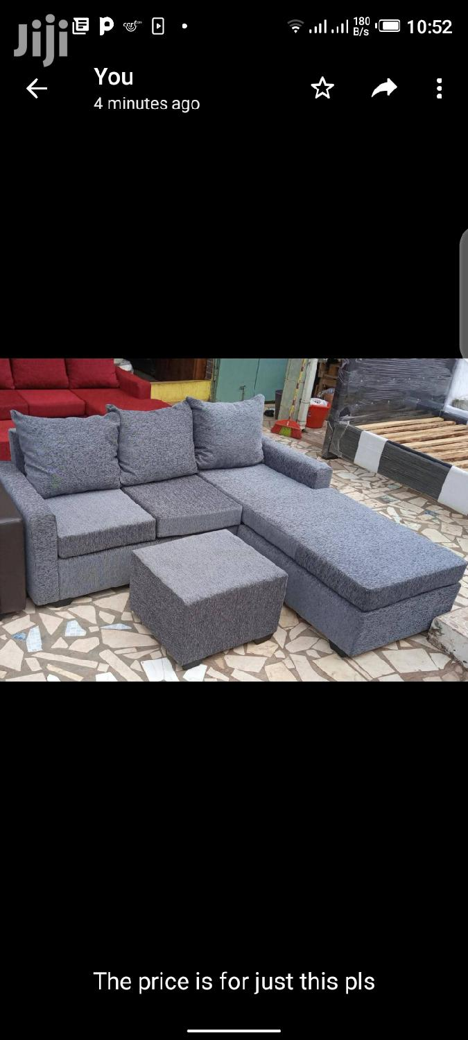 Gray Colored Lshaped Sofa.Free Delivery ❤🖤