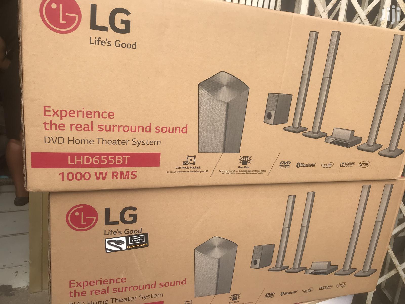 Dolby Digital 1000w LG LHD655BT DVD Home Theatre System