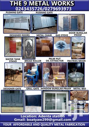 The 9 Metal Work | Manufacturing Services for sale in Greater Accra, Madina