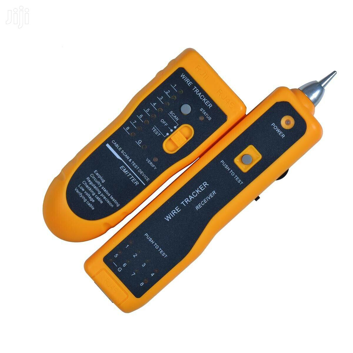 Jw-360 Network Wire Line Cable Tracker Tester W/ Tone Genera | Measuring & Layout Tools for sale in Accra Metropolitan, Greater Accra, Ghana