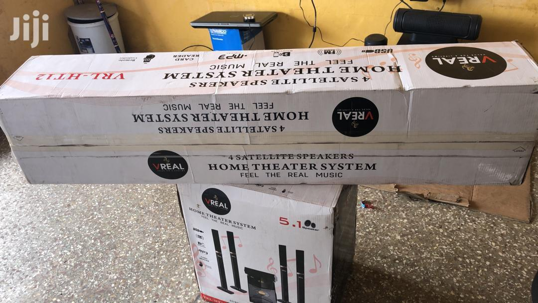 Vreal 5.1 Channel Home Theater System | Audio & Music Equipment for sale in Accra new Town, Greater Accra, Ghana