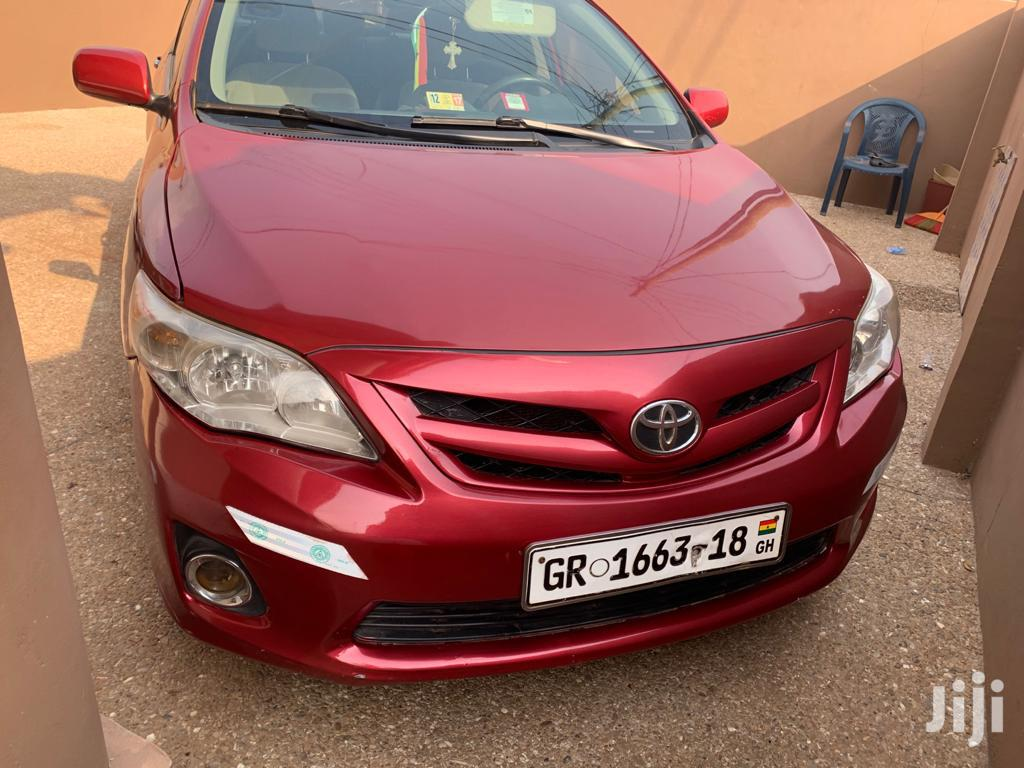 Toyota Corolla 2013 Red | Cars for sale in Adenta Municipal, Greater Accra, Ghana