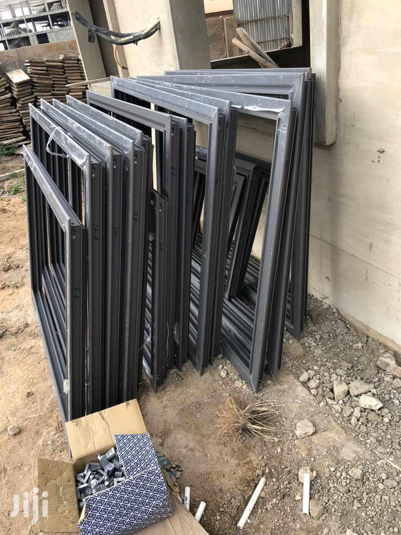K550 Grey Sliding Frames Windows