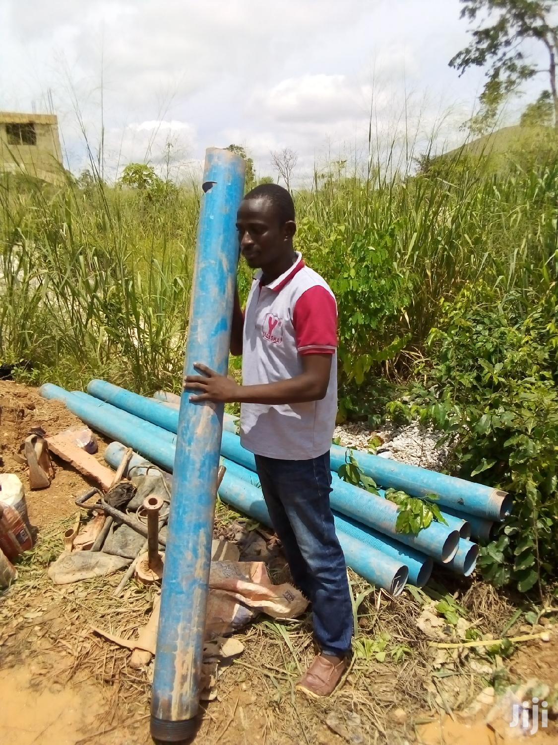 Drilling And Borehole Service, Quality Blue Pipes And Pump. | Building & Trades Services for sale in Kumasi Metropolitan, Ashanti, Ghana