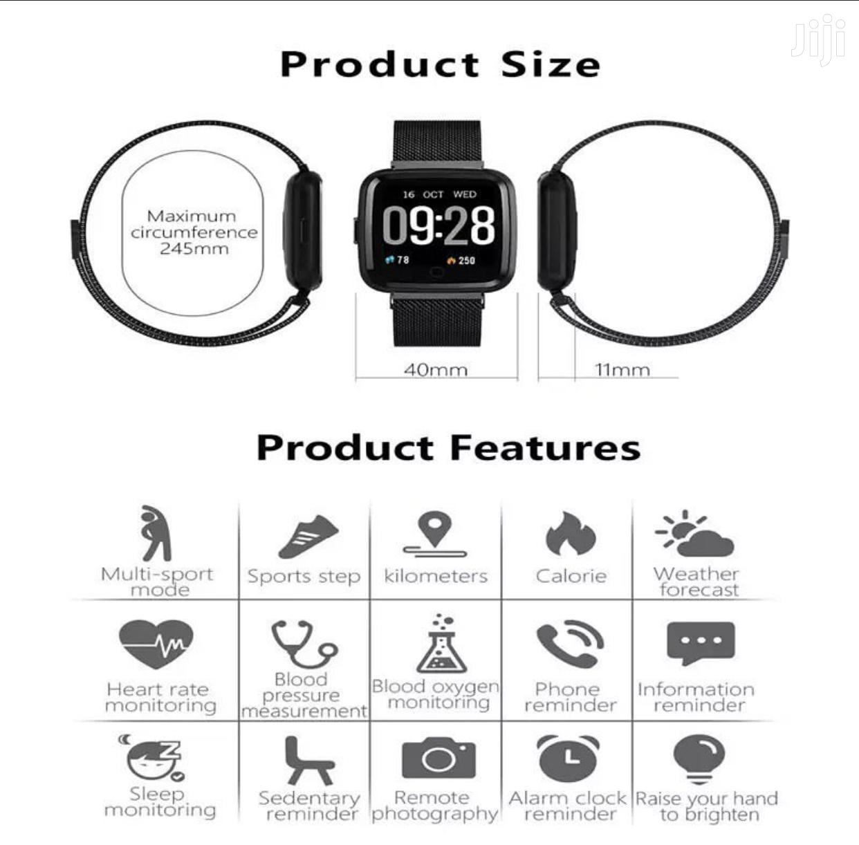 Archive: Y7 Fitness Smart Watch