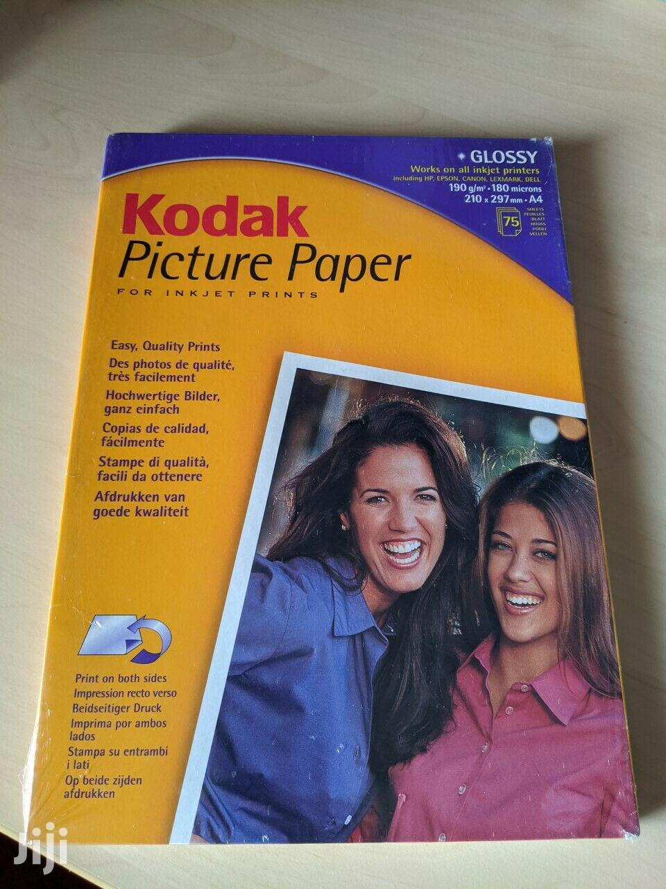 Archive: A4 Kodak Photo Paper 210X297