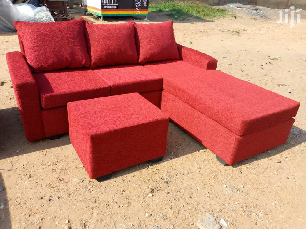 Neat L Shape Sofa Chairs / Promotion Prices | Furniture for sale in Achimota, Greater Accra, Ghana