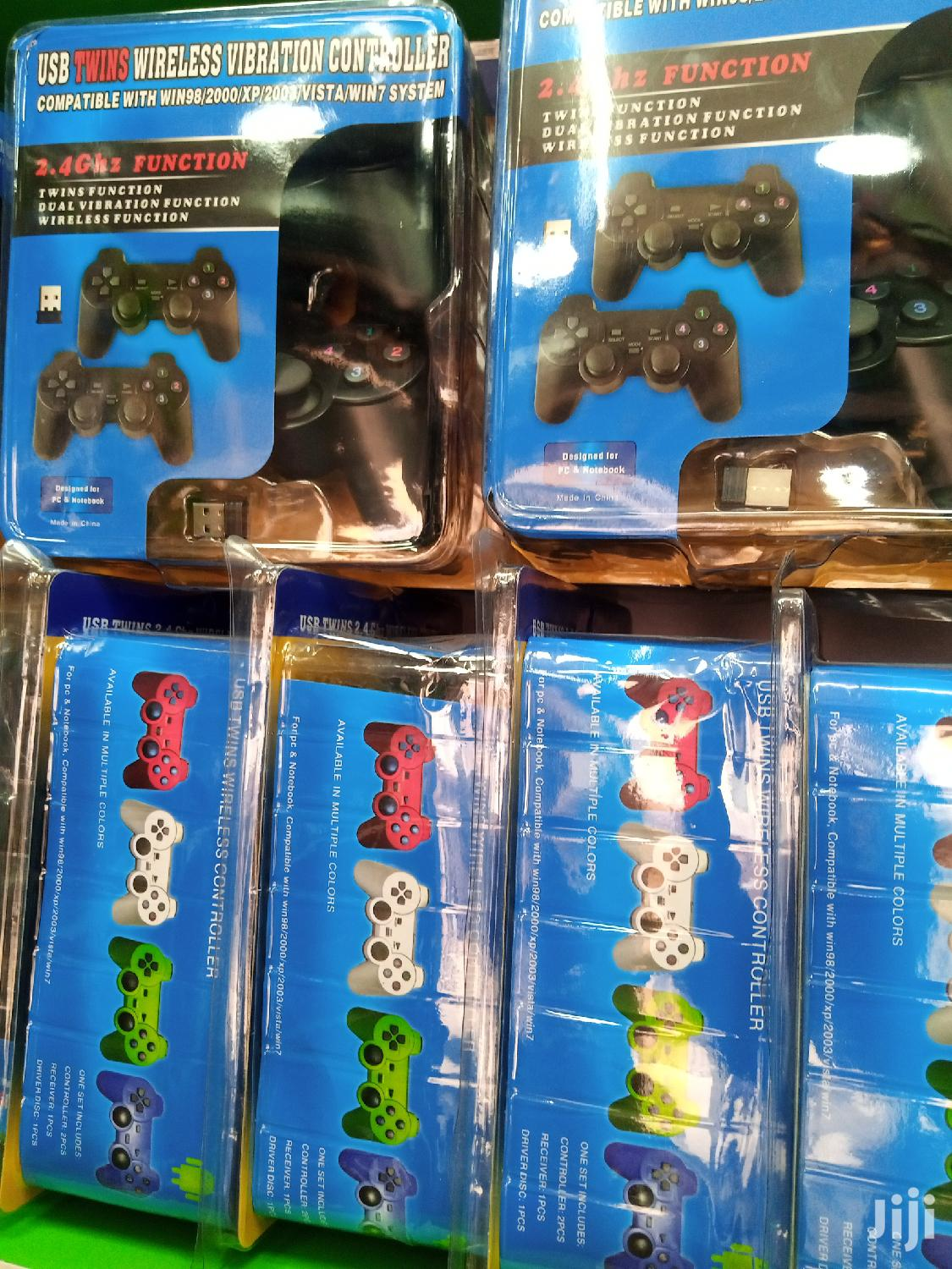 Brand New Double Pc Wireless Pc Controller | Video Game Consoles for sale in Alajo, Greater Accra, Ghana