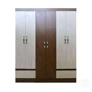 WOODEN WARDROBE 6 DOORS 2 DRAWERS  Big | Furniture for sale in Greater Accra, Adenta