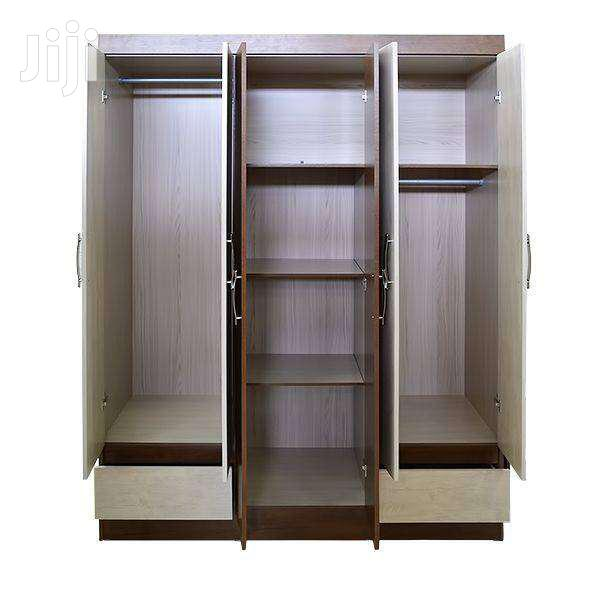 WOODEN WARDROBE 6 DOORS 2 DRAWERS  Big | Furniture for sale in Adenta Municipal, Greater Accra, Ghana