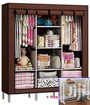 Brown Triple Wardrobe | Furniture for sale in Greater Accra, Kotobabi