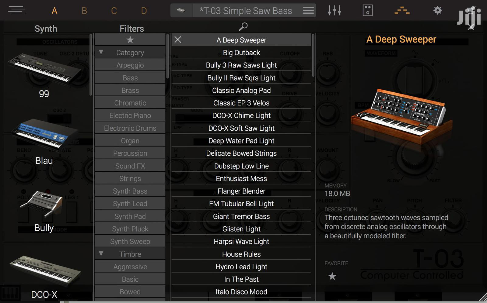 Syntronik 1.2| A VST Instrument Plugin For Sound Engineers | Software for sale in Kumasi Metropolitan, Ashanti, Ghana