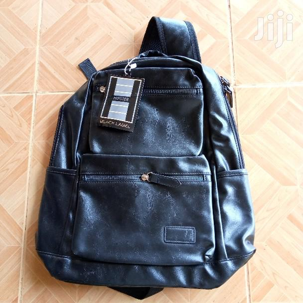 Black Label Hipster Leather Backpack | Bags for sale in Ga East Municipal, Greater Accra, Ghana