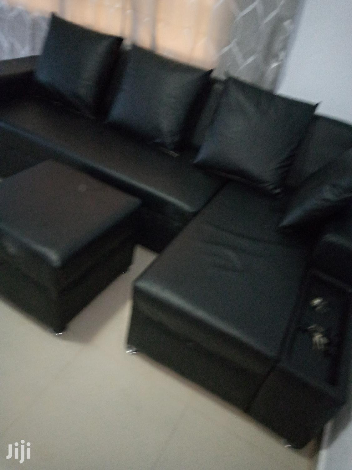 Archive: L Shaped Sofa. Leather