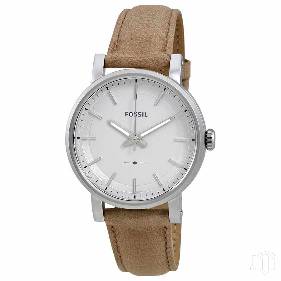 Fossil Tan Leather Watch