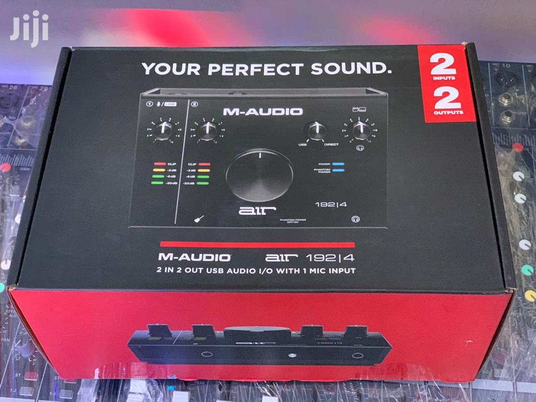 M-audio Air 192/14 8-in, 4-out USB/MIDI Audio Interface