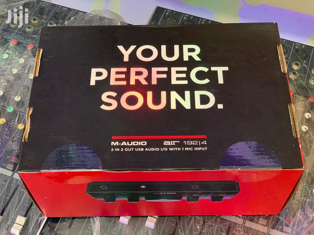 M-audio Air 192/14 8-in, 4-out USB/MIDI Audio Interface | Audio & Music Equipment for sale in Accra Metropolitan, Greater Accra, Ghana