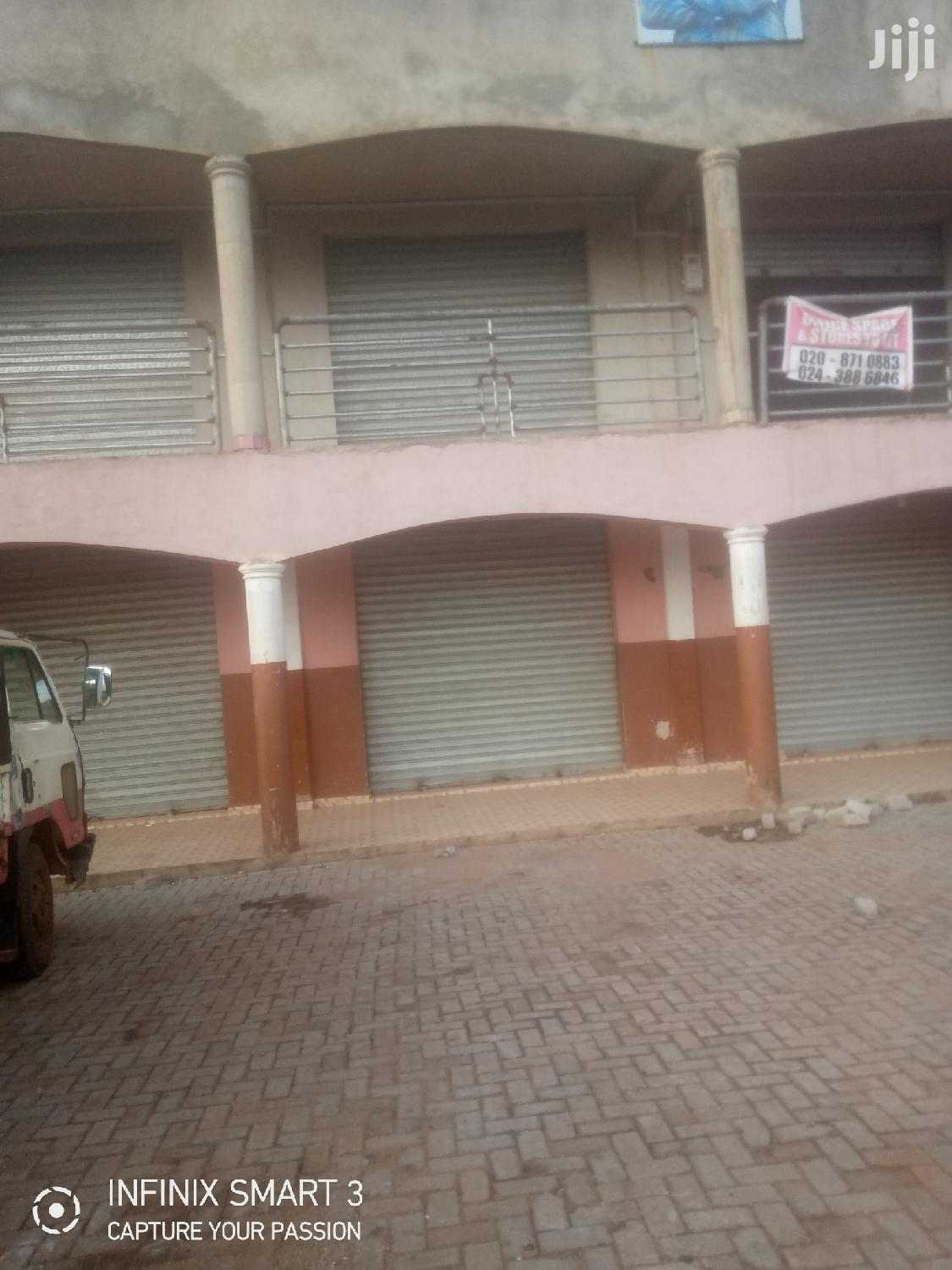 Stores and Offices for Rent at Sunyani Capital