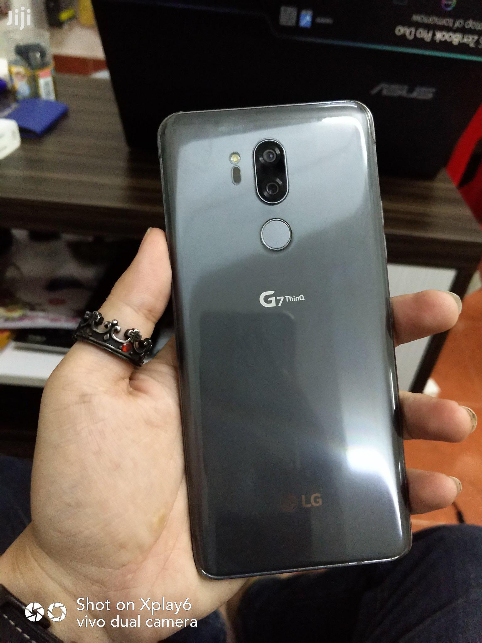 New LG G7 ThinQ 64 GB Black | Mobile Phones for sale in Accra new Town, Greater Accra, Ghana