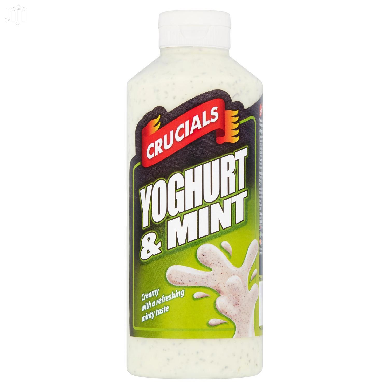Yoghurt And Mint Mayonnaise