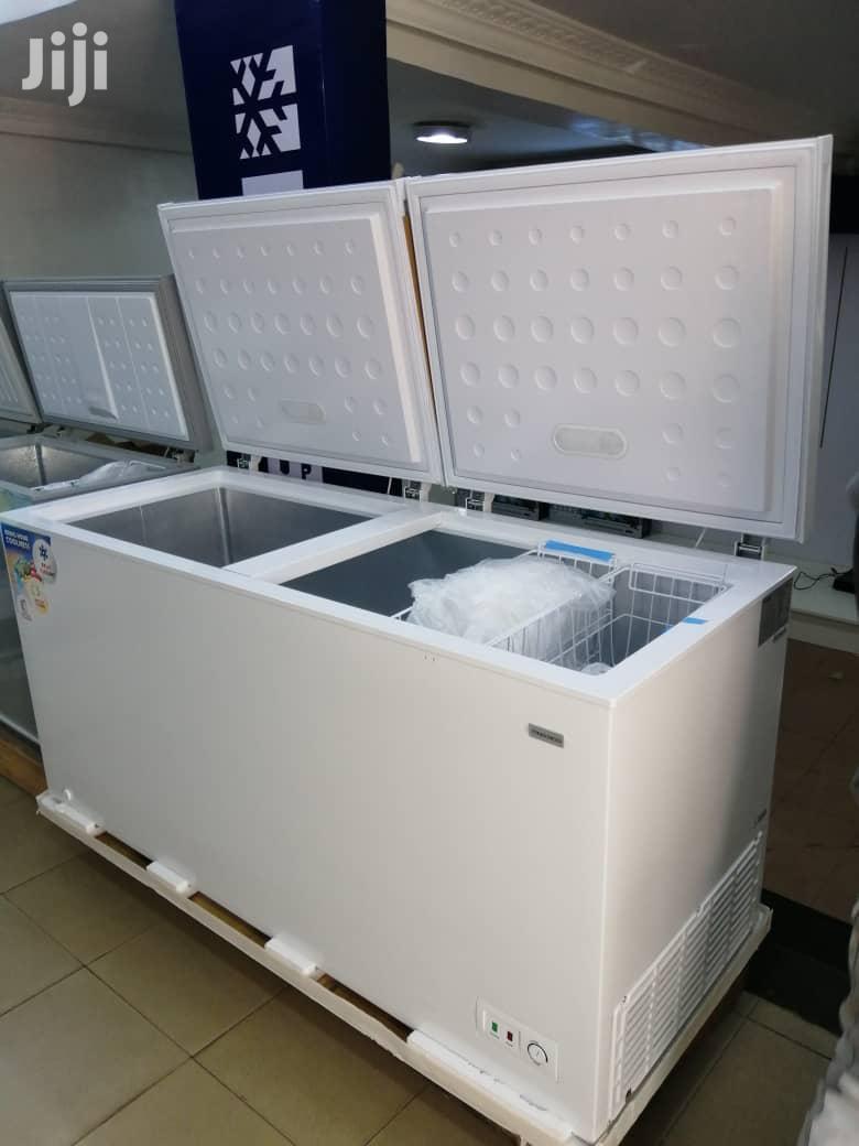 NASCO Double Door Chest Freezer (BD-600) | Kitchen Appliances for sale in Accra Metropolitan, Greater Accra, Ghana