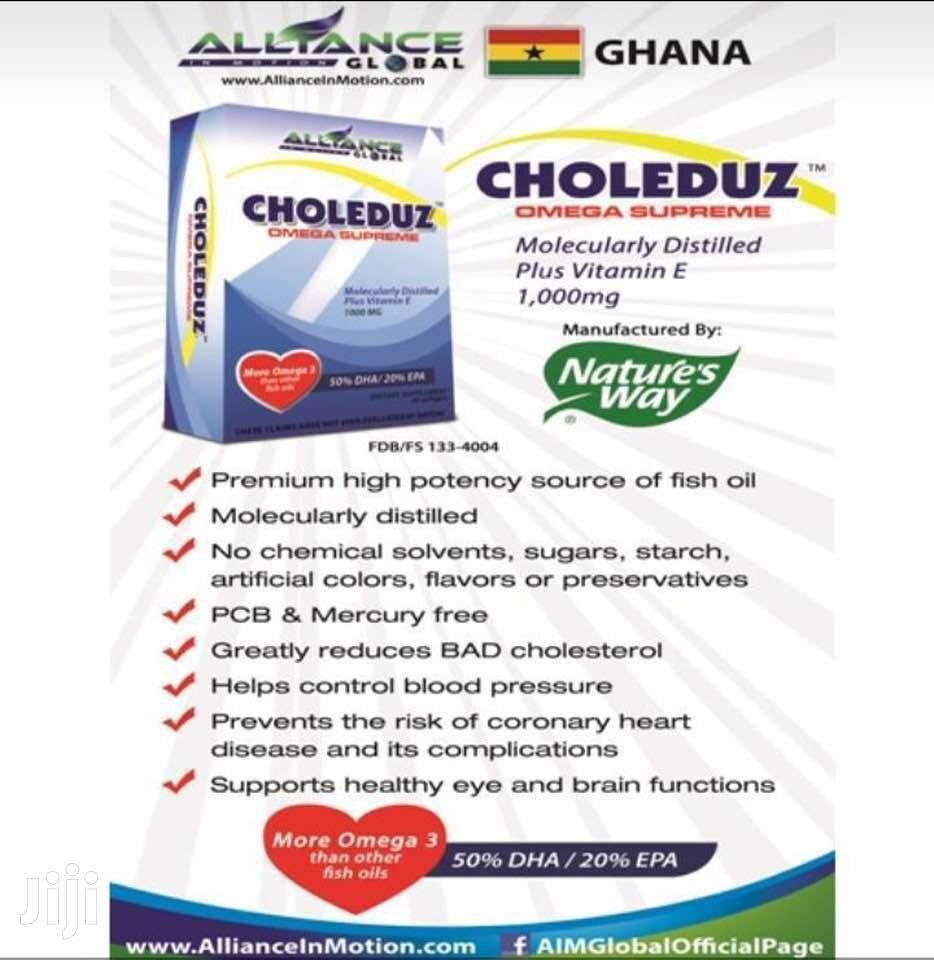 Choleduz Omega Supreme | Vitamins & Supplements for sale in Ashaiman Municipal, Greater Accra, Ghana