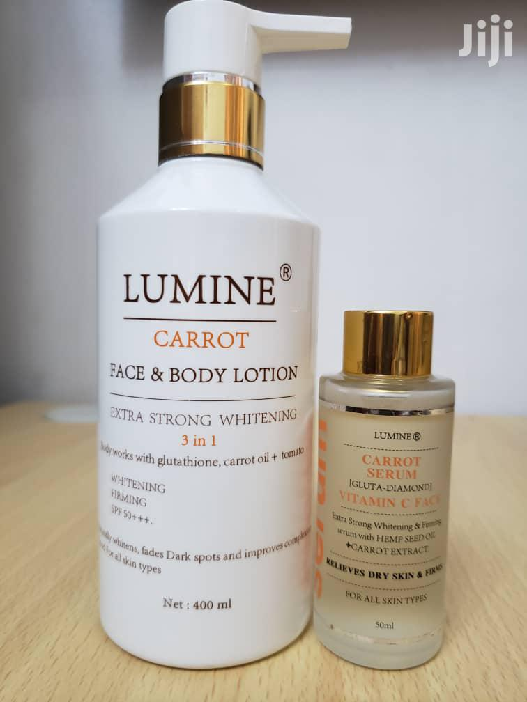 Lumine Extra Whitening Lotion With Serum | Skin Care for sale in Tema Metropolitan, Greater Accra, Ghana