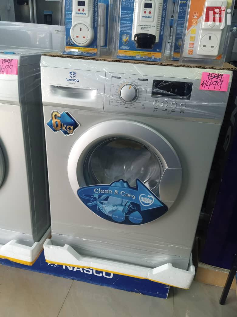 NASCO 6kg Front Load Washing Machine (MFE60-S804)